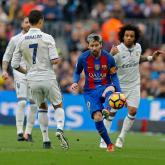 Real Madrid vs Barcelona, Liga de España. FOTO: AP.