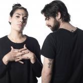 María Mónica Gutiérrez y Felipe Ortega Blanco son Ságan. Foto: Esteban Vergara.