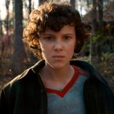 La actriz Millie Bobby Brown, de 13 años, es Eleven en Stranger Things.