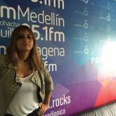 Maria José Camargo de V For Volume en Entrevistas Radiónica