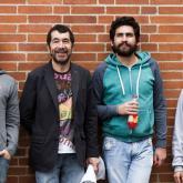 Rosco, 'El Mastro' Willi Vergara, Balta y Chu. 2014.