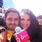 Selfie de Diego Londoño con Simona Sánchez. 12 de septiembre de 2015.