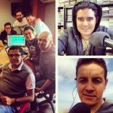 Así estaba conformado el equipo de #DíasDeRadio a principios de 2014.