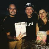 Diego Londoño y sus amigos punkeros, David y Mónica de I.R.A.