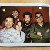 Juan Pablo Coronado, Iván García, Dahiana Rodríguez, Andrés Salazar y Pipe Reyes un día cualquiera. 2015.
