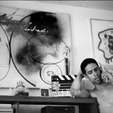 Crazy Legs en su casa en El Bronx. 1990