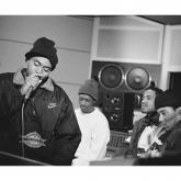 """Nas en el estudio de grabación del """"Illmatic"""""""