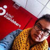 Selfie de Pipe Reyes en el máster de la emisora (La foto que todo el que llega se toma).