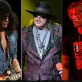 Axl Rose, Slash, Duff McKagan, Dizzy Reed, Richard Fortus, Frank Ferrer & Melissa Reese (2016)