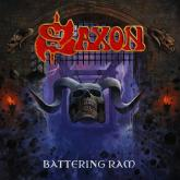 "No. 36 ""Battering"" de Saxon. Sello: Ram UDR"