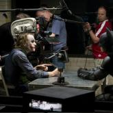 """Heath Ledger y Cristian Bale en """"Batman: El Caballero de la noche"""""""