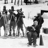 """Charles Chaplin en """"La Quimera del Oro"""""""