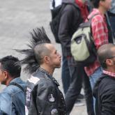 El punk no ha muerto [Galería de crestas]