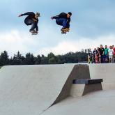 Comenzó el Skateboard profesional