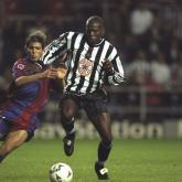 St. James Park y tres goles para el recuerdo: Tino Asprilla
