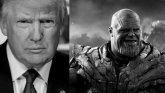 Donald Trupm y Thanos.