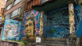 Graffiti en ruinas. Chapinero, Bogotá. Foto de Colprensa.