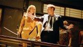 Quentin Tarantino y Uma Thurman.