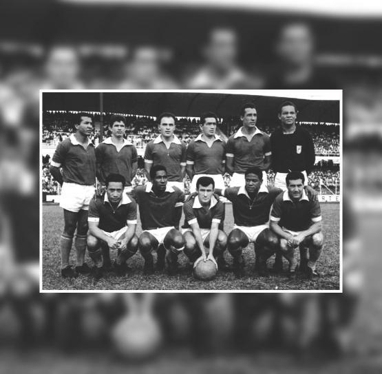 Millonarios en 1964. Foto archivo de Guillermo Ruiz Bonilla.