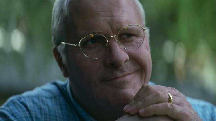 Christian Bale como Dick Cheney en Vice (2018)
