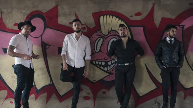 Doorado, grupo emergente colombiano. Foto cortesía de la banda.