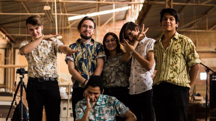 El Sonido de los Árboles, una de las nuevas bandas pereiranas. Todas las fotos tomadas de Facebook.