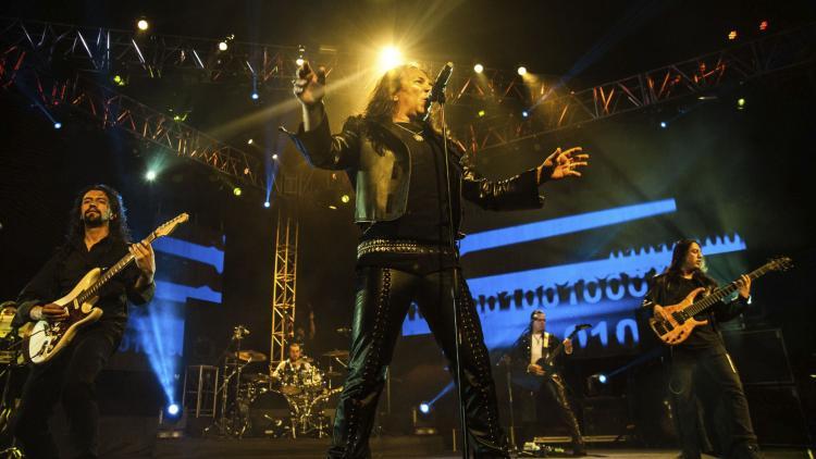 Kraken en su concierto de 30 años. Foto de Yojan Valencia