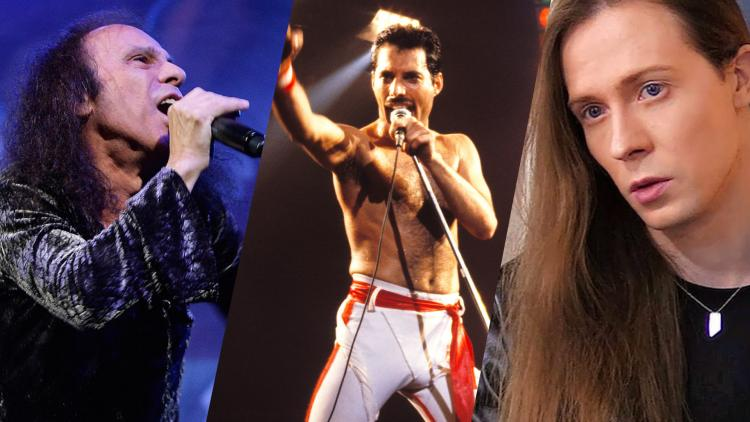 Ronnie James Dio, Freddie Mercury y Threatin.