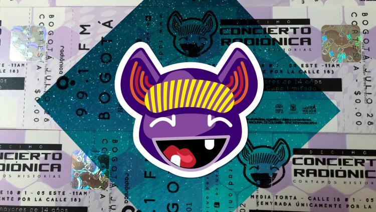 En Bogotá y en Medellín son necesarias las boletas del Décimo Concierto Radiónica.