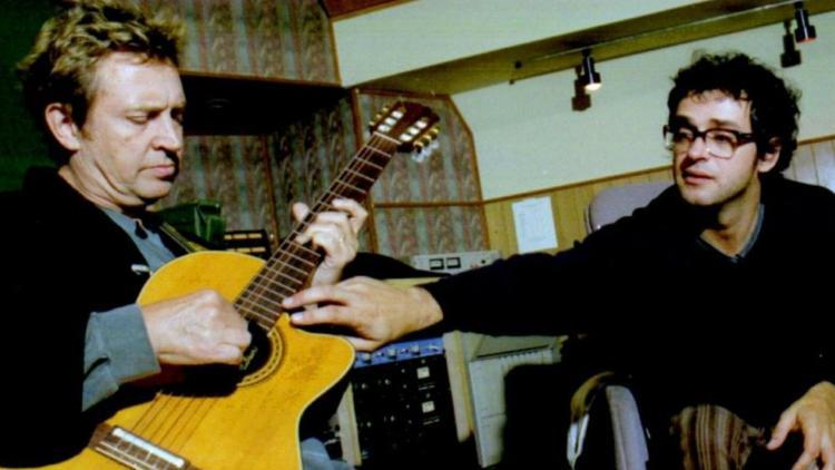 Andy Summers y Gustavo Cerati creando 'Tráeme la noche'.