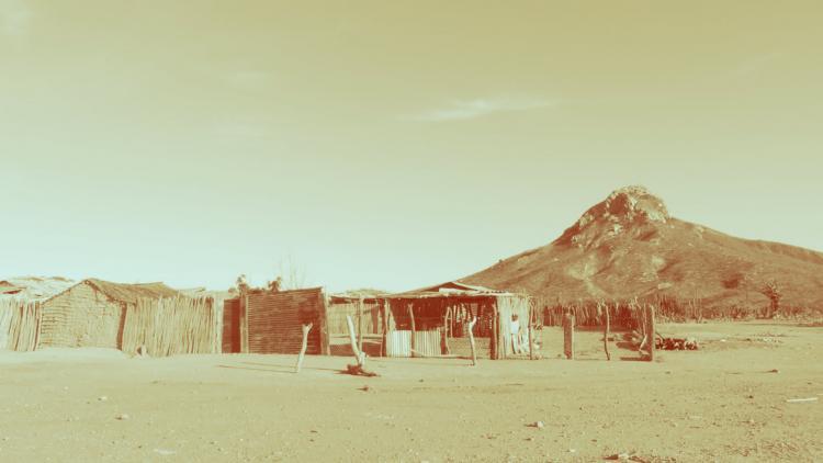 Foto de Luis Pérez recorriendo la Alta Guajira (17 de junio de 2016)  / Tomada de  flickr.com