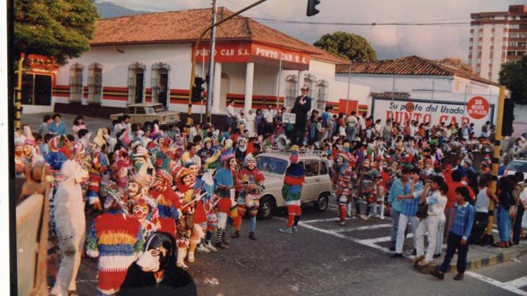 Matachines en Santander. Fotos de Corporación Matachines Nueva Generación. ¿Cuál es su tradición navideña?