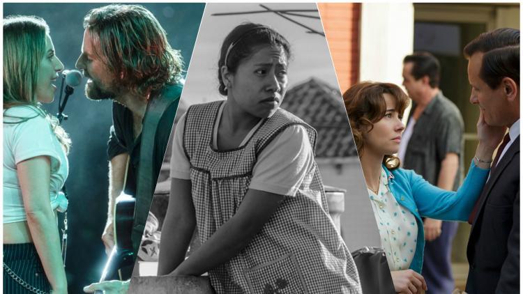 A Star is Born, Roma y Green Book entre las películas nominadas. Imagen tomada de www.milenio.com