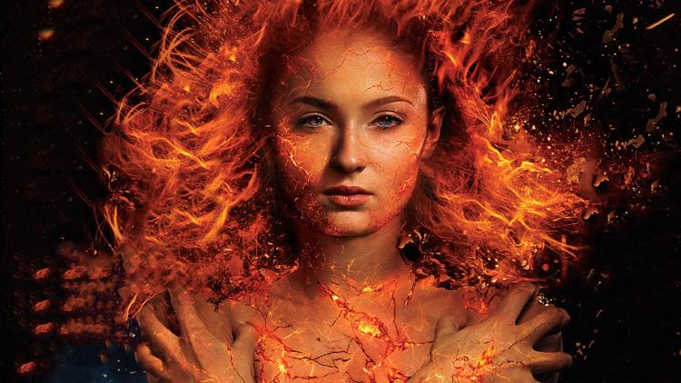 Sophie Turner (Sansa en Game of Thrones) es Jean Grey en 'X-Men: Dark Phoenix'.