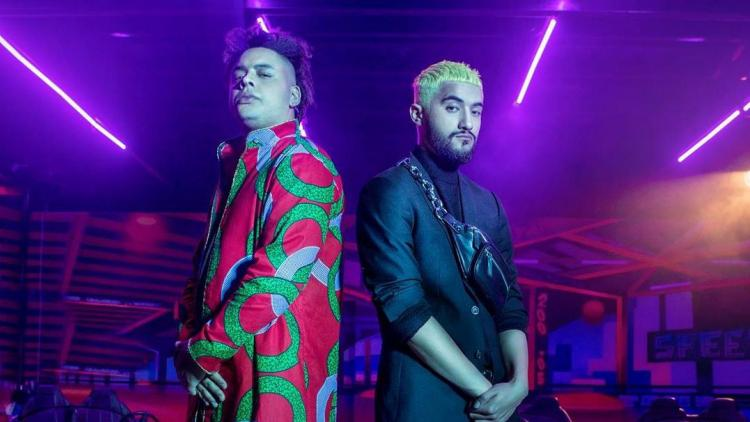 Karin B y Pezcatore, Rap Bang Club. Foto tomada de Facebook.
