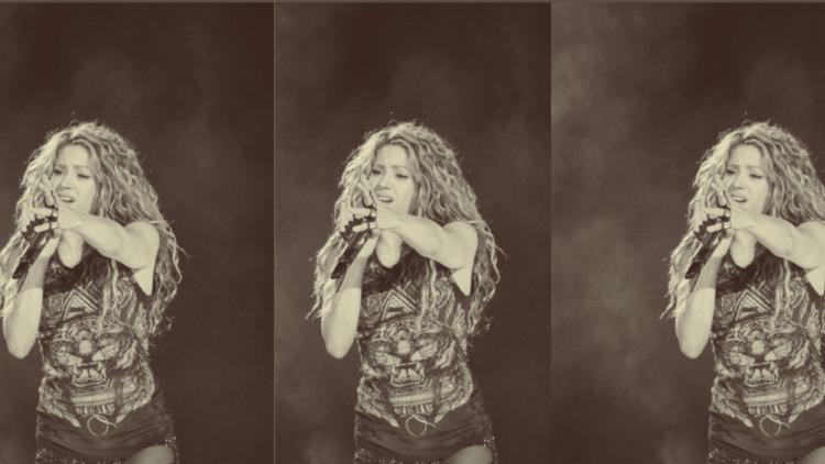 Foto tomada Twitter Shakira