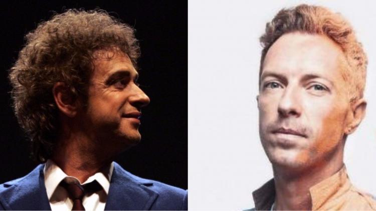 Imágenes tomadas de Facebook: Soda Stereo -Coldplay.