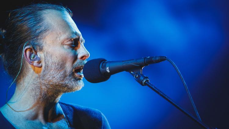 Thom Yorke. Foto de Stephan Flad tomada de Rockandpop.cl