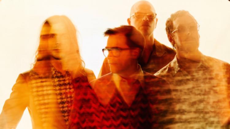 Weezer. Foto tomada de Facebook.