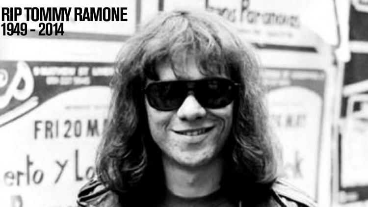 Tommy Ramone muere a los 65 años