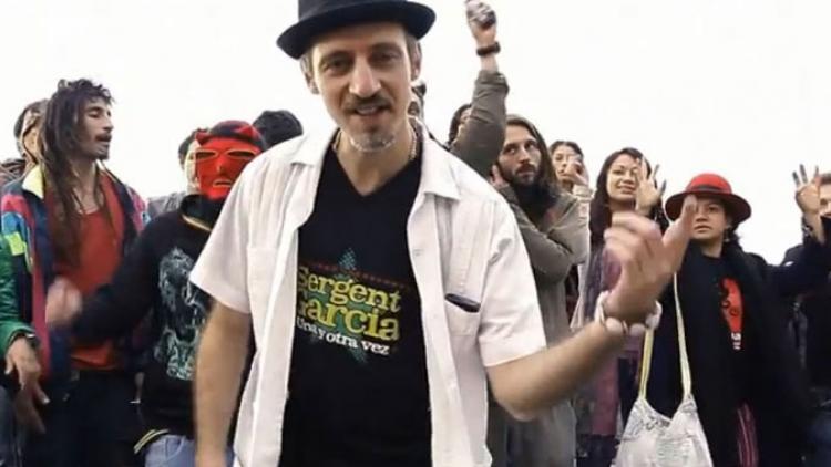Sargento García en Días de Radio