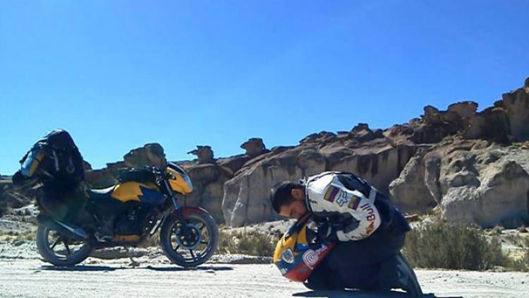 Latinoamérica en moto: la historia de Omar Moreno