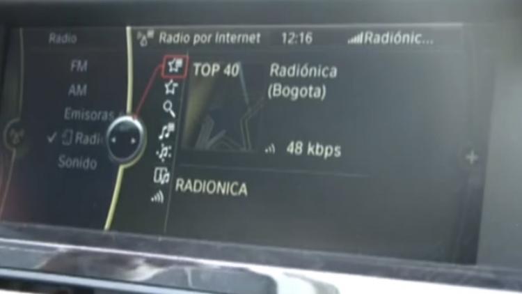 Radio del mundo en el carro por Internet