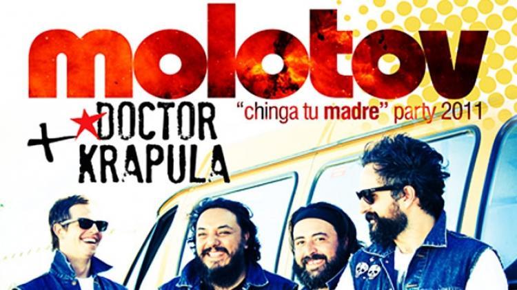Frijoleros atentos: Chinga Tu Madre Party con Molotov
