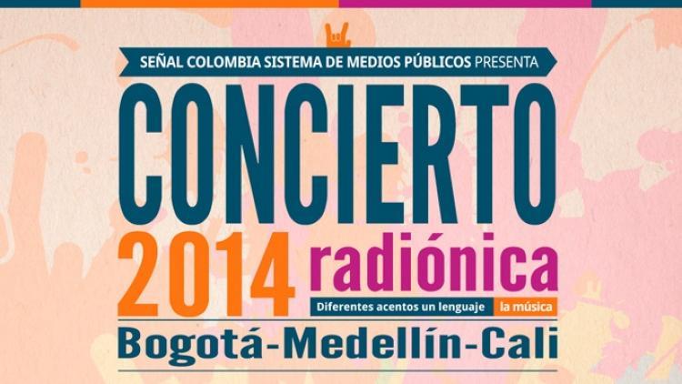 ¡14.09.14! Este es el Concierto Radiónica 2014
