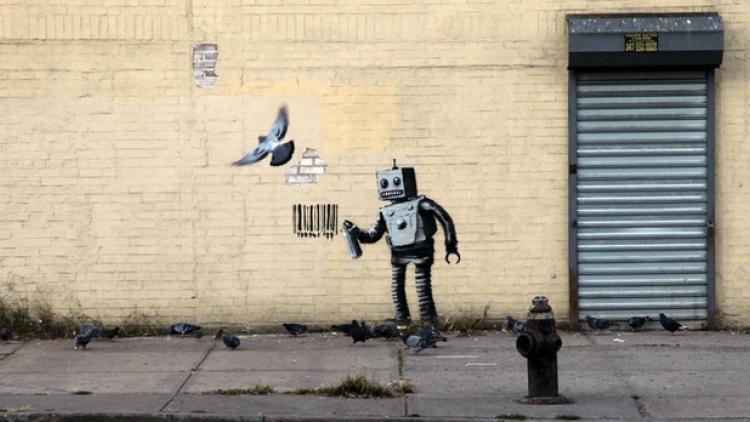Banksy, personalidad del año en los Webby Awards