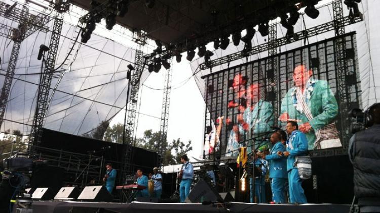 Tercer día de Sonidos Colombianos en el Vive Latino 2013