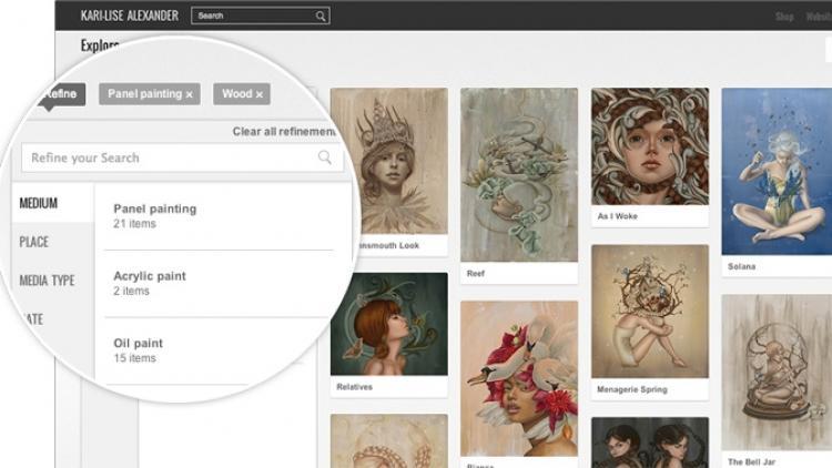 Creen sus propias exposiciones en la web