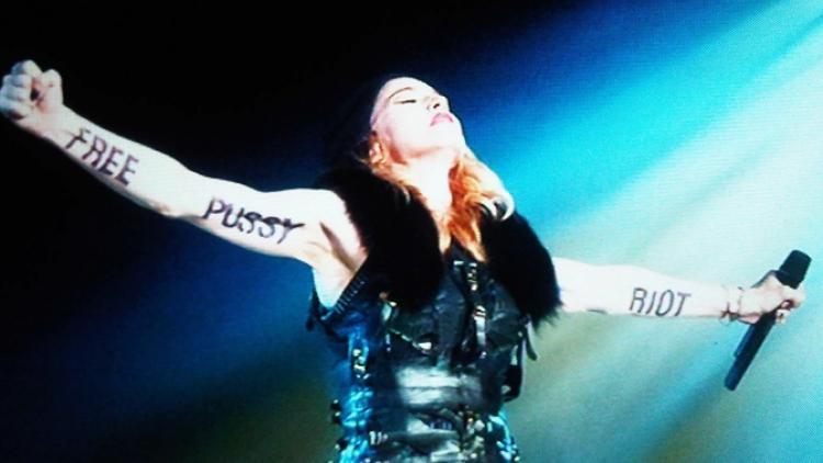 Un rayo de luz para Pussy Riot