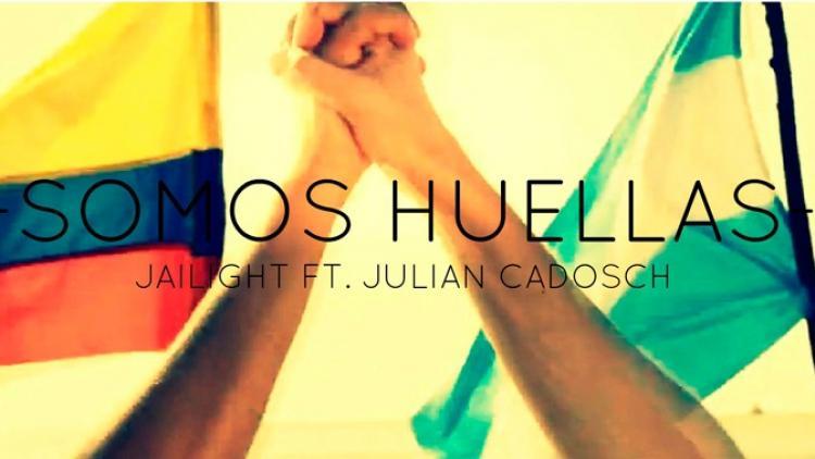 """""""Somos Huellas"""" de reggae colombo argentino"""